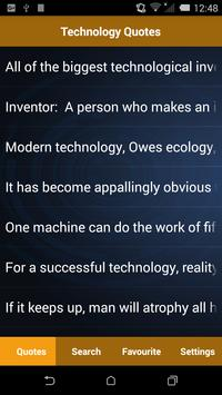 Technology Quotes poster