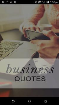 Business and Leaders Quotes poster