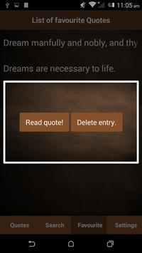 Dream Quotes apk screenshot