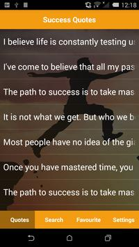 Motivational Success Quotes poster