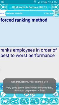 Human Resource HRM Exam Review apk screenshot