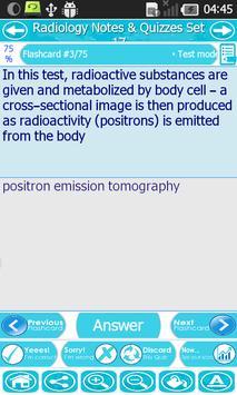 Radiology & X-ray Exam Review apk screenshot