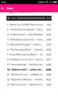 Best Sweet Memories Love Songs screenshot 2