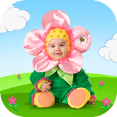 Adults & Baby Photo Montage icon