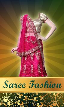 Women Saree Photo Montage poster