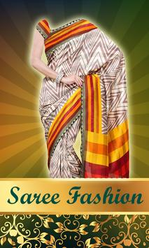Women Saree Photo Montage screenshot 14