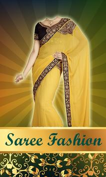 Women Saree Photo Montage screenshot 1