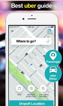 Best uber Guide:Offline uber Taxi Driver Guide poster