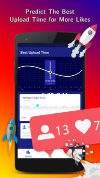 Best Upload Time for Instagram poster