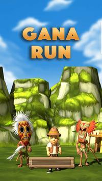 Gana Run: Endless Runner Game poster