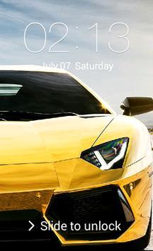 Car Lock Screen poster