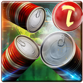 Real Can Knockdown Shoot-Flick Can Strick icon