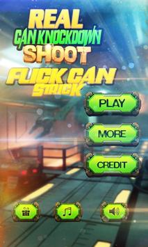 Real Can Knockdown Shoot-Flick Can Strick apk screenshot