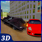 Bat Car Driving Simulator icon