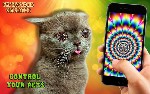 Cat hypnosis simulator poster