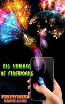 Real fireworks simulator apk screenshot