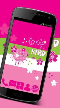 Sweet Bird - GO Launcher Theme poster