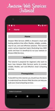 Learn Amazon Web Services Offline poster