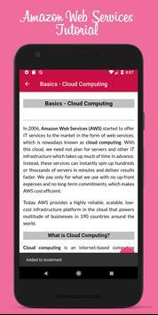 Learn Amazon Web Services Offline screenshot 4