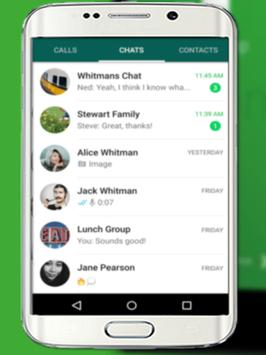New Whatsapp Messenger Guide screenshot 2
