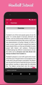 Best Handball Tutorials screenshot 2