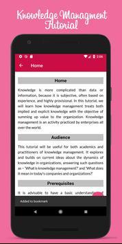 Learn Knowledge Management Full Offline screenshot 3