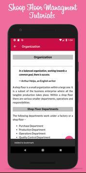 Learn Shoop Floor Management screenshot 2