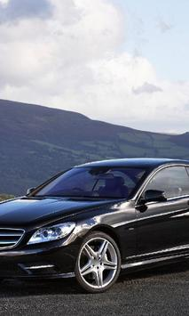 Wallpapers Mercedes Benz CL poster