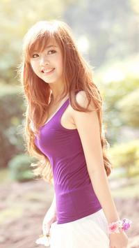 Vietnamese Girl Wallpaper screenshot 3