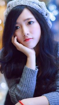 Vietnamese Girl Wallpaper poster