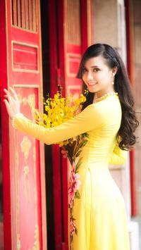 Vietnamese Girl Wallpaper screenshot 1