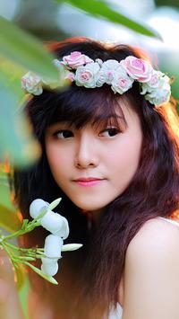 Vietnamese Girl Wallpaper screenshot 2