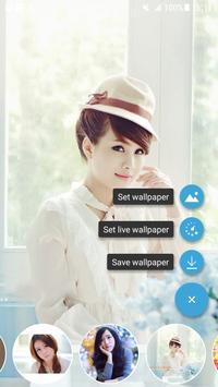 Vietnamese Girl Wallpaper screenshot 5