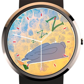 Lazy Bunny Watch Face icon