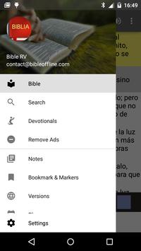 Bible Reina Valera poster