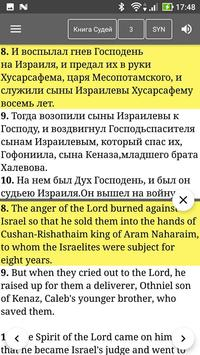Russian Bible screenshot 5
