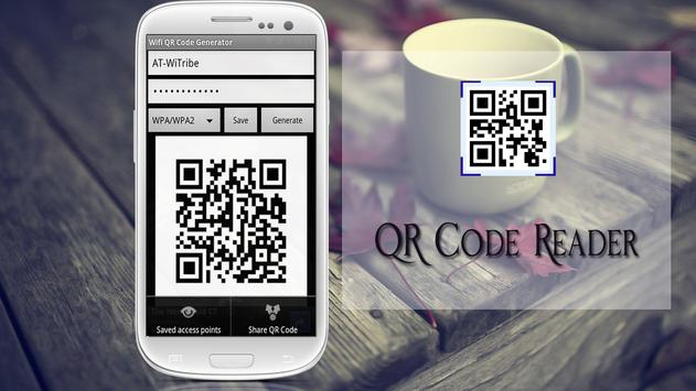 QR code reader apk screenshot