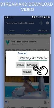 Best Video Downloader For FB - free & fast screenshot 4