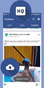 Best Video Downloader For FB - free & fast screenshot 9