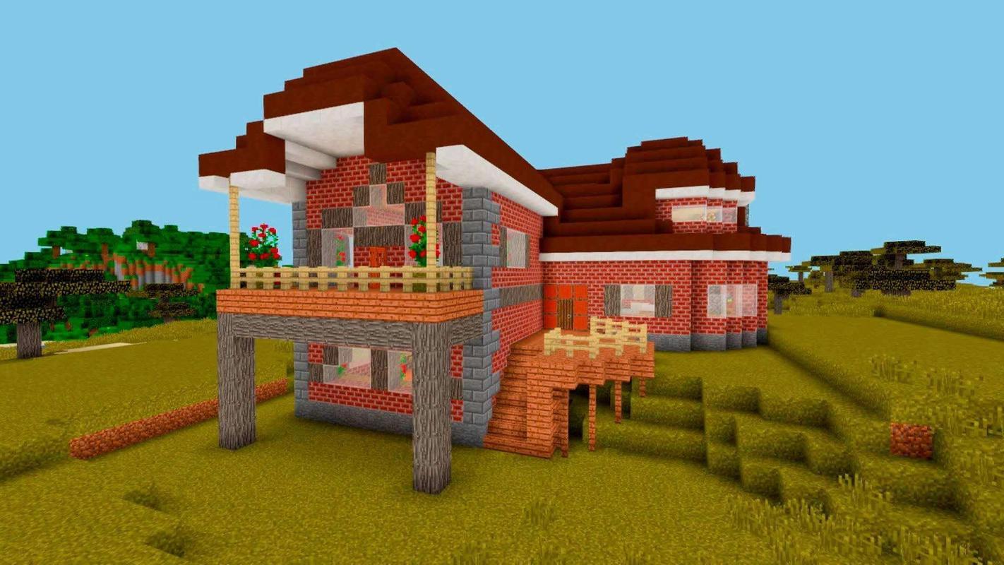Bestes Amerikanisches Minecraft Haus Für Android APK Herunterladen - Minecraft hauser schnell bauen