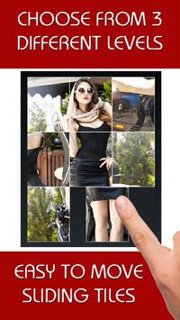 Hot Babes on Bikes Sliding Puzzle poster