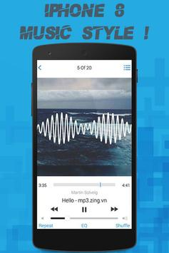 iMusic Style for iPhone 8 apk screenshot