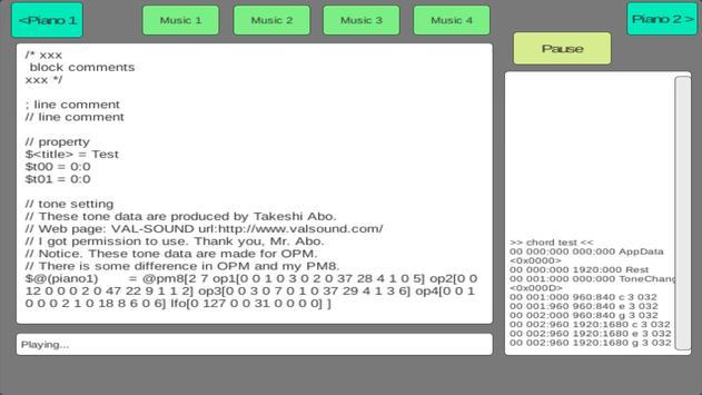 Piano apk screenshot