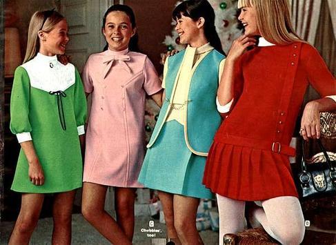 1970 Dresses poster