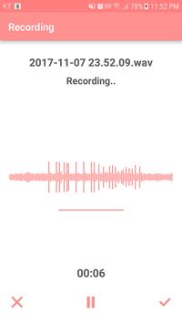 Voice Recorder - Voice Memo apk screenshot