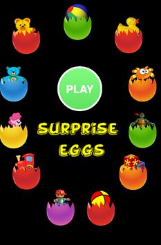 memory surprise eggs - toys poster