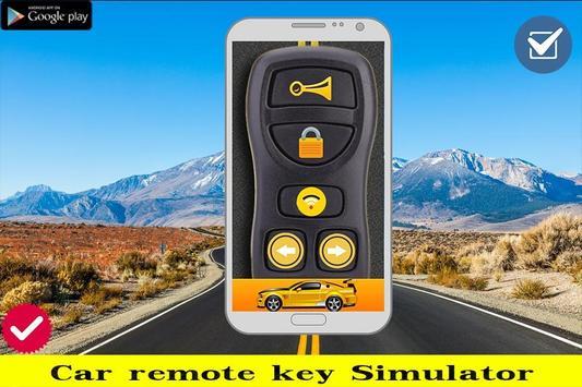 Key Car Remote Prank screenshot 1