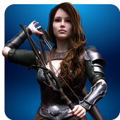 Menginstal Game android Archery Girl Animal Hunting 3D APK online