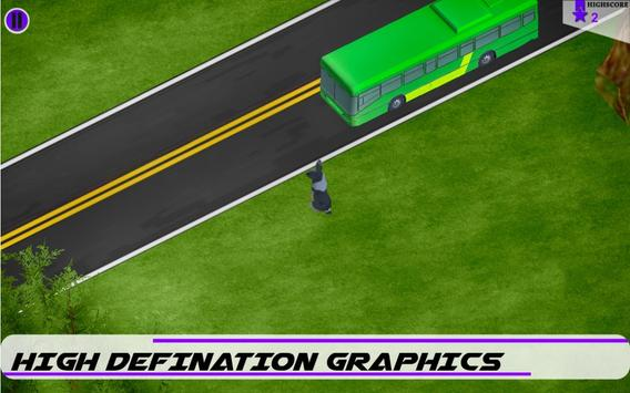 Crossy Highway Traffic - 3D poster