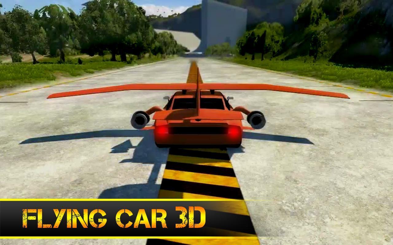 Flying Car Game Apk